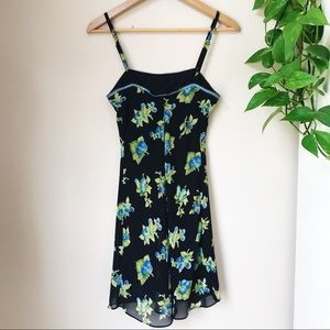Betsey Johnson Dresses - BETSEY JOHNSON Floral Slip Dress Vintage 90s